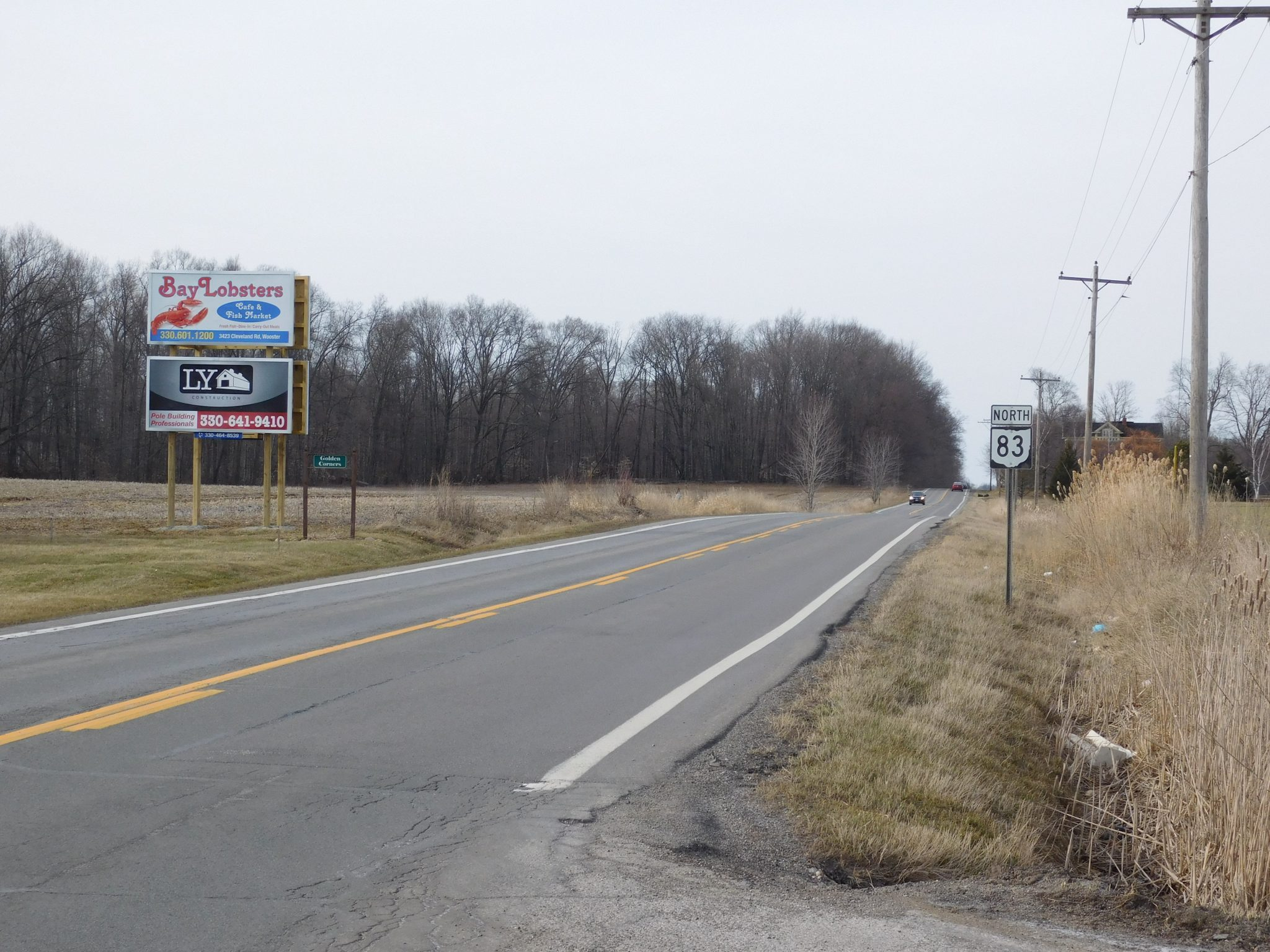 8-Route 83 - 6x12 -Northbound traffic - wood prop