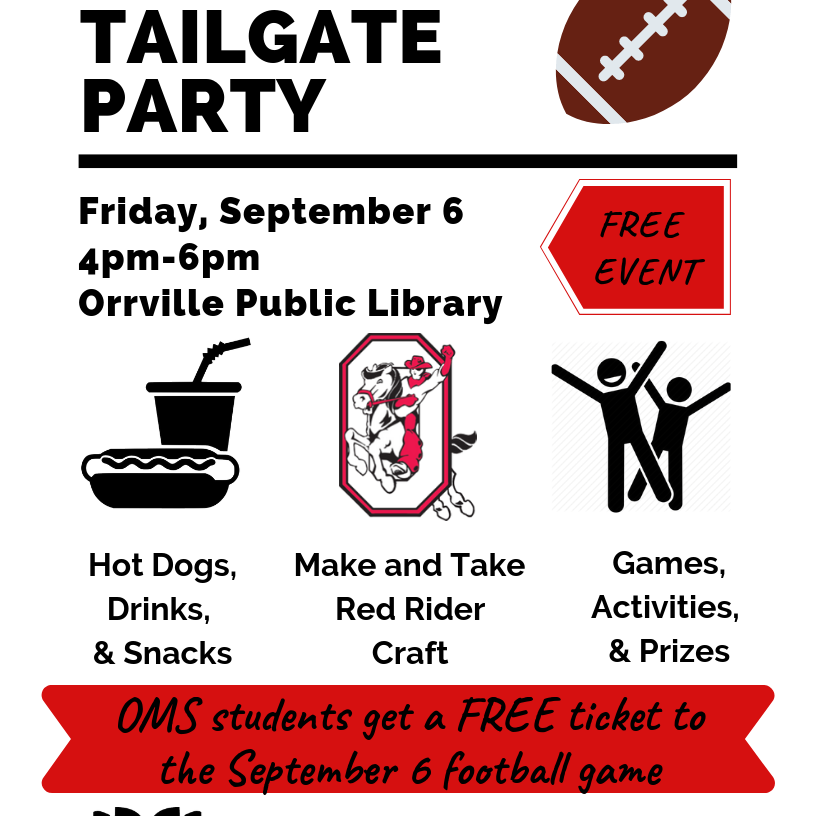 Hometown Tailgate Party Flyer 2019